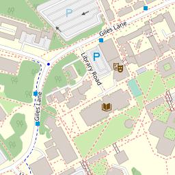Map 9f Uk.Maps University Of Kent